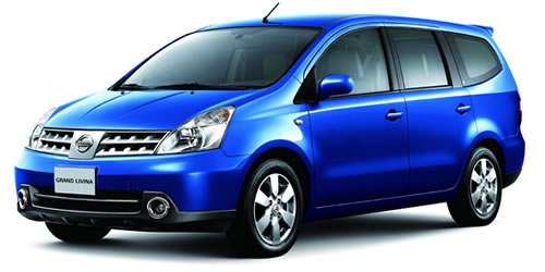 Nissan Grand Livina Mini Bus Hire